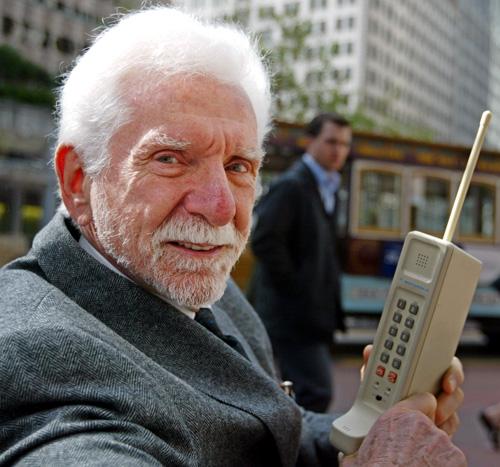 40 años de llamadas desde el móvil