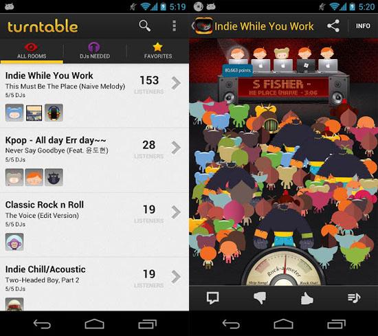 Aplicaciones para escuchar música en tablets Android