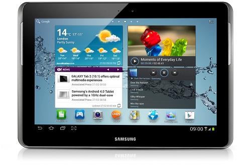 Samsung Galaxy Tab 3 10.1 podría usar un chip Intel Atom