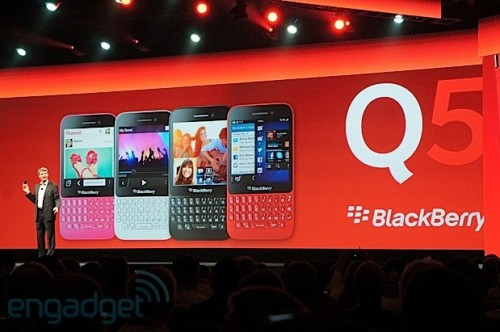 Q5, el nuevo móvil de BlackBerry