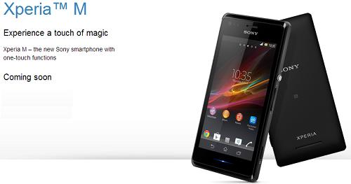 Sony Xperia M Un Nuevo Smartphone De Gama Media Tecnoweb