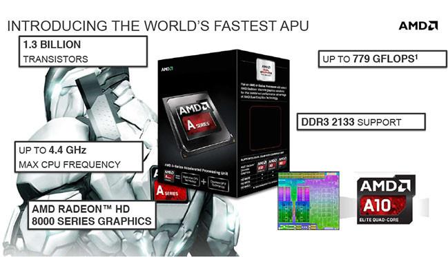 AMD también presenta sus nuevos procesadores Richland