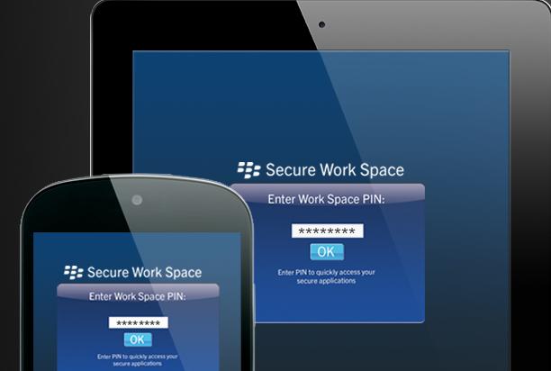 Blackberry lanza su espacio de trabajo seguro para iOS y Android