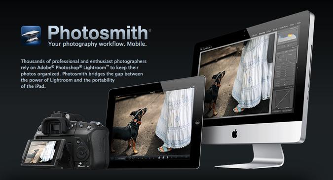 Photosmith: organiza tus fotos en tu iPad