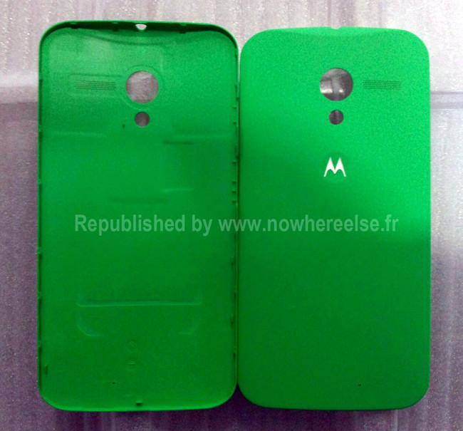 La personalización del Motorola X será  a nivel externa