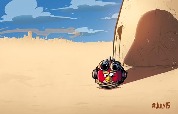Angry Birds Star Wars II llegará en Septiembre con novedades