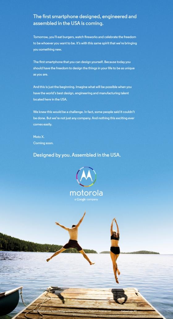 El Motorola X podría ser personalizable