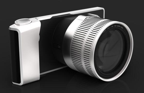 ¿Y si Sony fabricara un objetivo con cámara integrada?