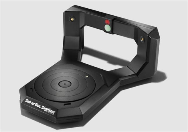Marketbot Digitalizer, un escáner de objetos en 3D