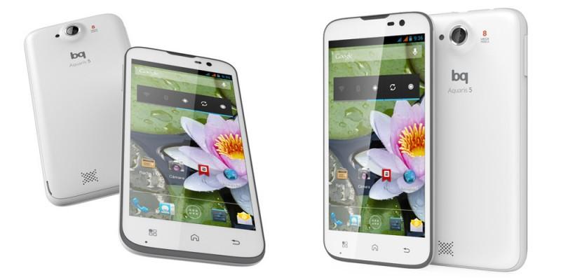 bq Aquiarius 5, un nuevo smartphone con sabor español