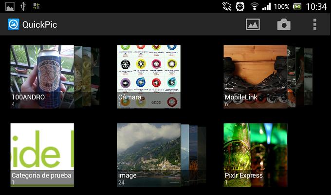Crear categorías personalizadas para tus fotos en Android