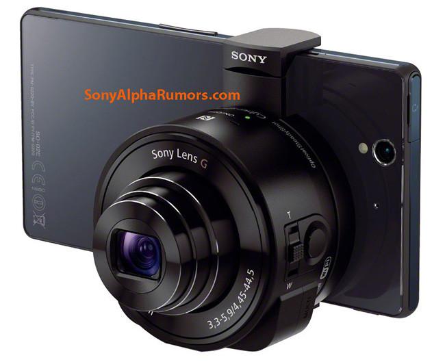 Se filtran las imágenes de los objetivos-cámara para Smartphones de Sony