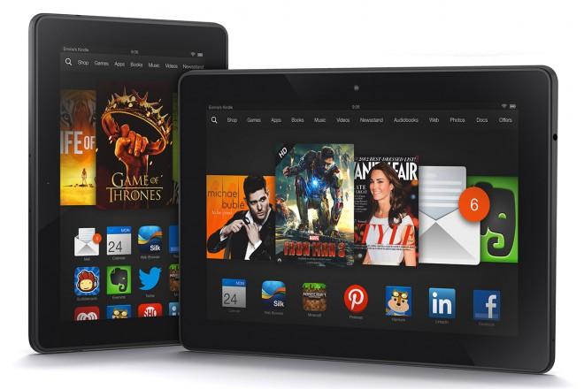 Salen a la venta los nuevos  Kindle Fire HDX de Amazon