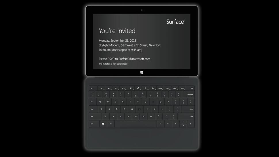 Microsoft prepara un evento para lanzar Surface 2