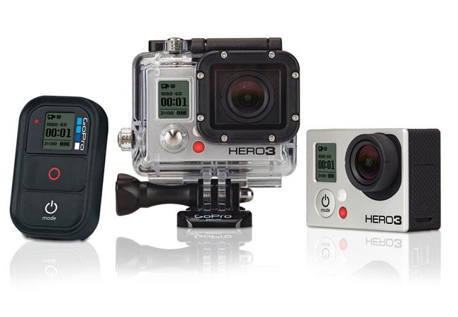 GoPro Hero3+, lo último en cámaras de acción