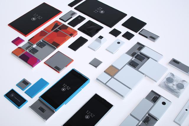 Motorola Project Ara, móviles modulares.