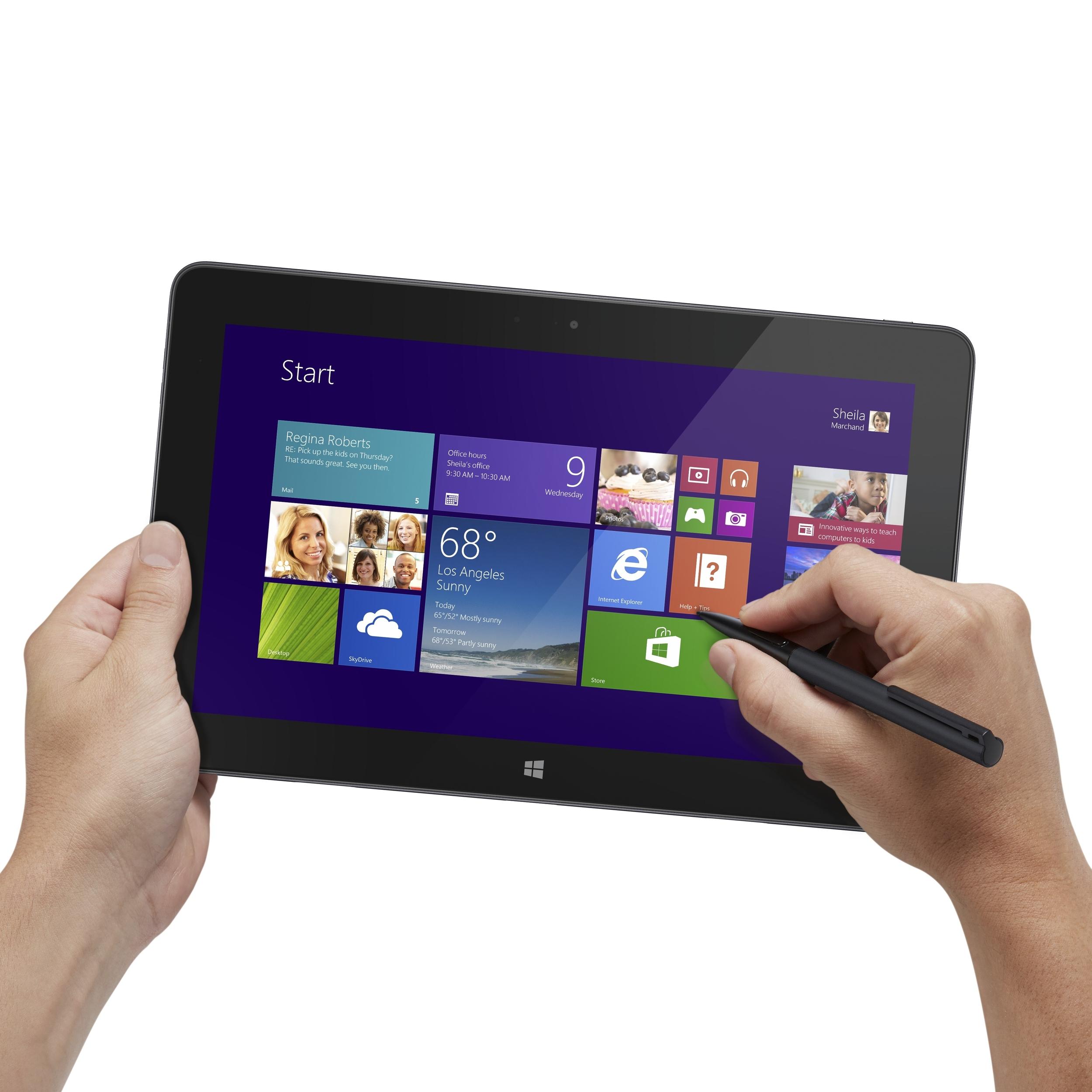 Nuevos tablets Dell Venue Pro con windows 8