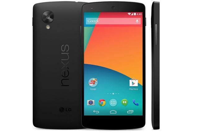 Google presentó el Nexus 5 y KitKat, la nueva versión de Android