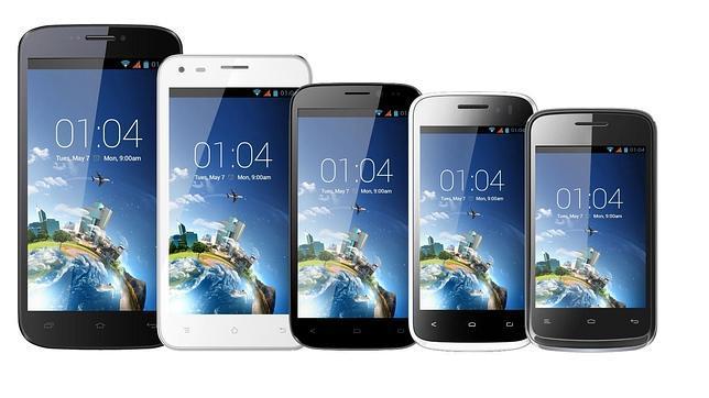 Kazam: smartphones Android desde 100 euros