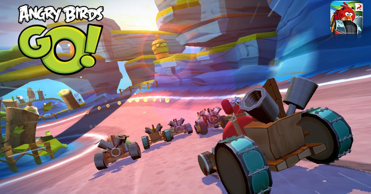 Angry Birds Go! disponible para iOS, Android, Windows Phone y BlackBerry 10