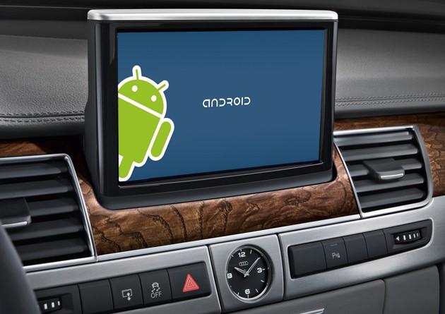 Android llega a los automóviles