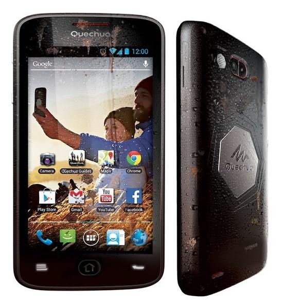Decathlon ya tiene smartphone para los deportistas, Quechua Phone 5