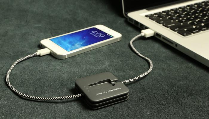 Jump, el cable que carga tu smartphone que querrás tener