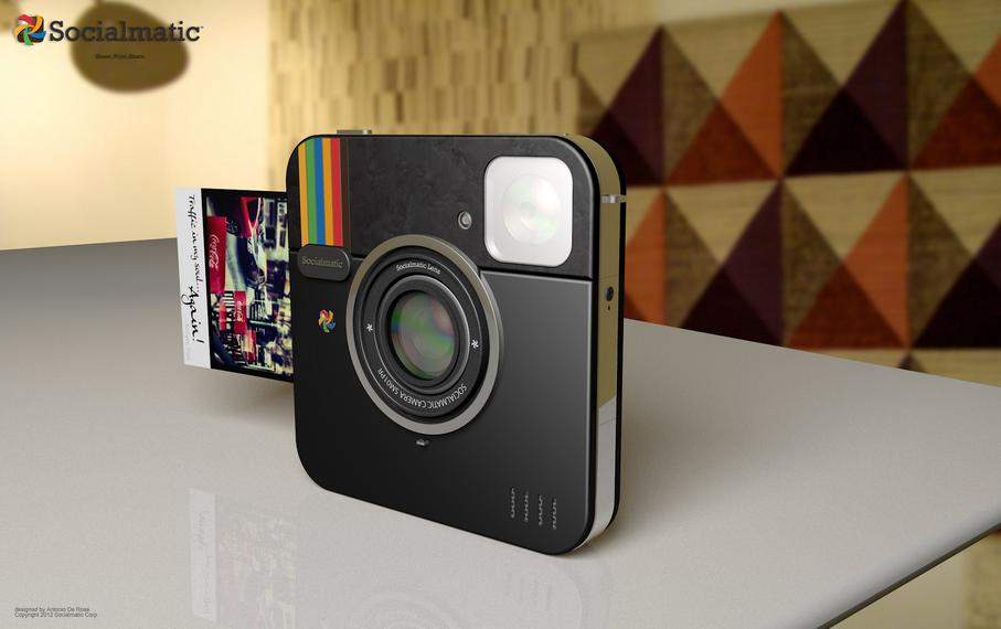 Socialmatic, la cámara Instagram de Polaroid