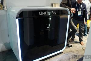 Chefjet, una impresora que imprime…¡en chocolate!