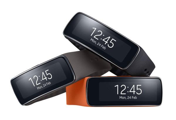 Samsung Gear Fit, para ponerte en forma.