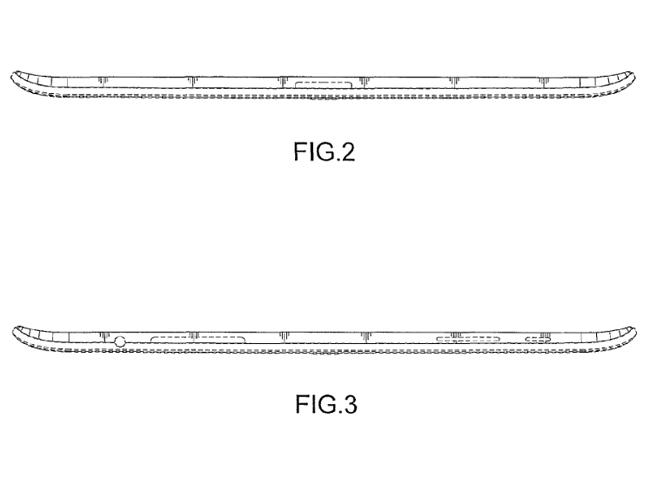 Samsung trabaja en tablets con bordes curvados