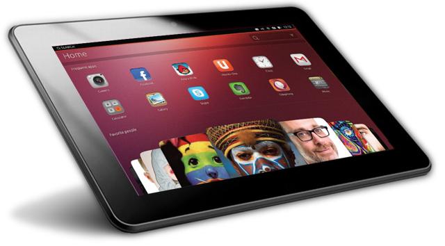 Las primeras tablets con Ubuntu llegarán en otoño