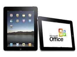 Llega Microsoft Office para iPad