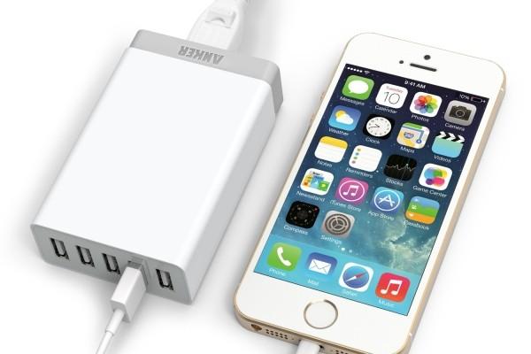 Análisis del cargador Anker para hasta cinco dispositivos USB