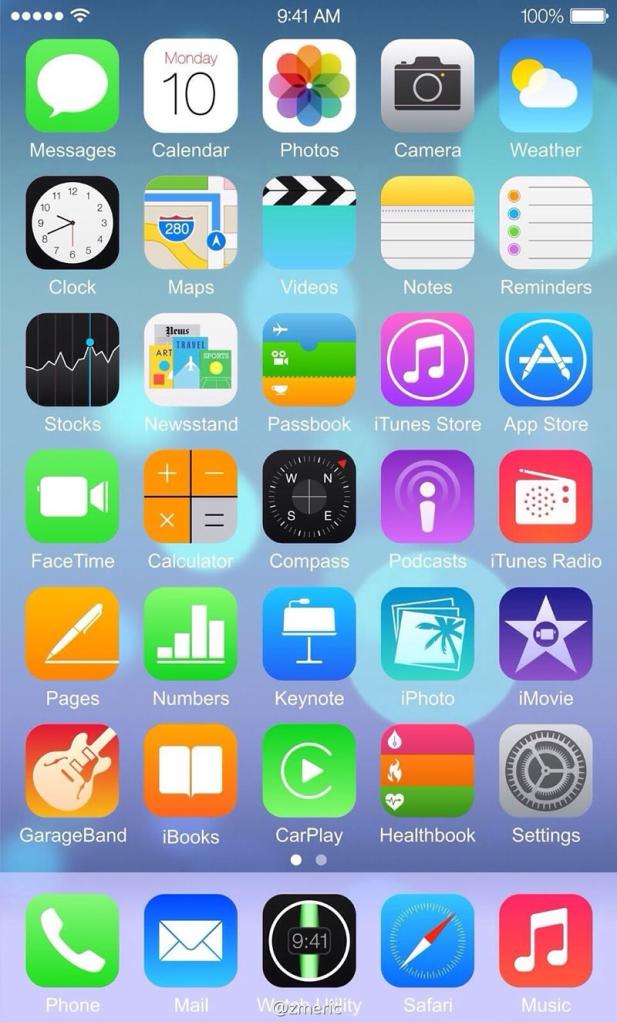 El iPhone 6 podría tener dos tamaños, dando la bienvenida a las pantallas más grandes