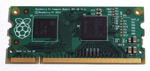 El nuevo Raspberry Pi tiene el formato de un módulo de RAM