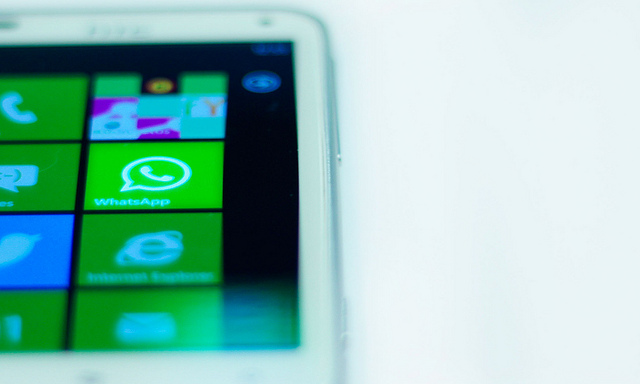 WhatsApp desaparece de la tienda Windows Phone