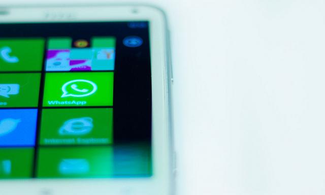WhatsApp desaparece de la tienda Windows Phone