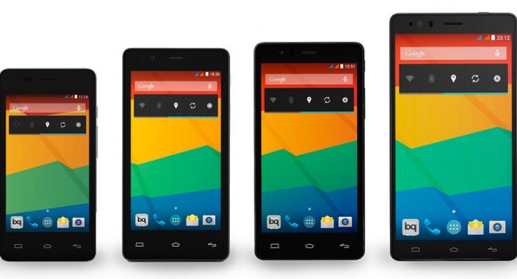 bq Aquaris E es la nueva familia de smartphones patrios