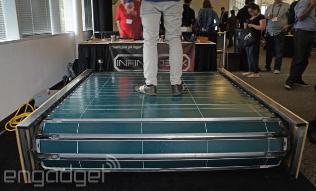 Infinitadeck, un tapiz rodante para la realidad virtual