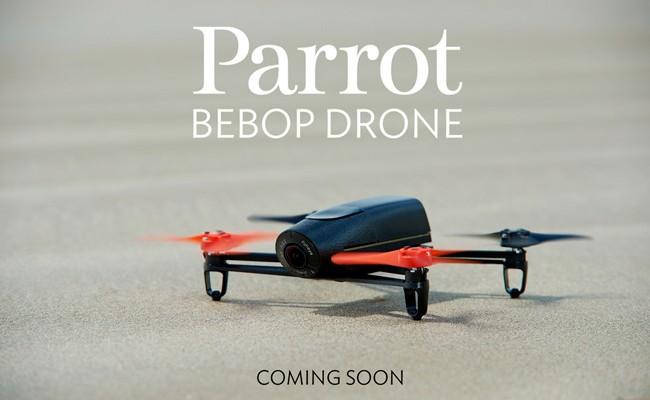 Parrot Bebop, un drone volador que controlas con tu móvil