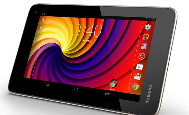 Toshiba lanza nuevas tabletas económicas
