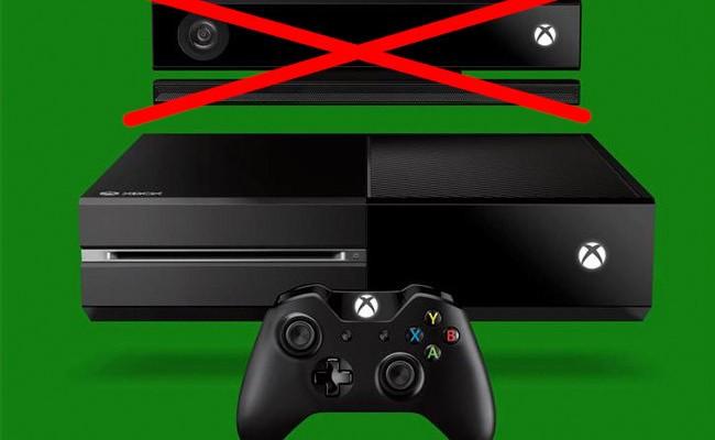 Xbox One, ahora también sin Kinect y por 100 euros menos