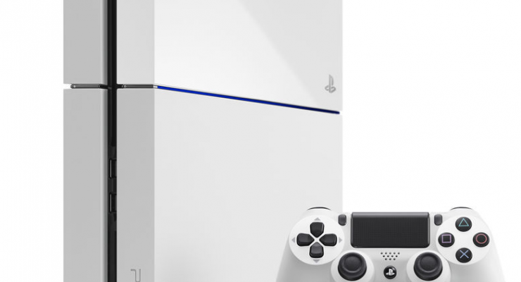 Sony muestra en el E3 la PS4 de color blanco junto con PlayStation TV