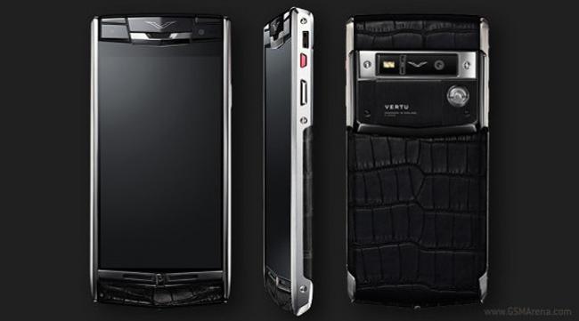 El nuevo Vertu Signature Touch puede ser tuyo si tienes 8.000 euros