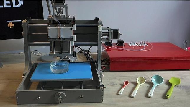 Dovetailed, una impresora 3D que imprime frutas