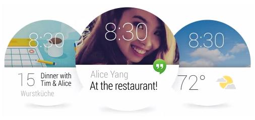 Lo que encontraremos en los primeros relojes con Android Wear