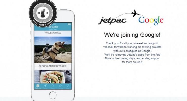 Google adquiere una original aplicación para turistas