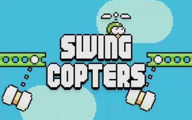 Swing Copters, lo nuevo del creador de Flappy Birds