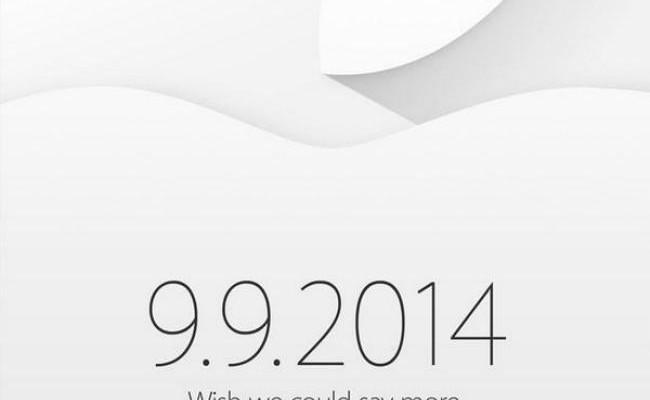 Es oficial, Apple nos invita a su evento el 9 de Septiembre